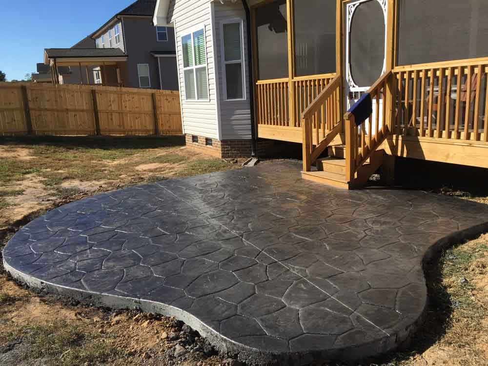 ... Stamped Concrete Patio ...