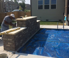 Custom Stone and Brick work