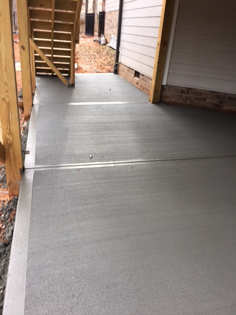 patio, stairs, area under deck